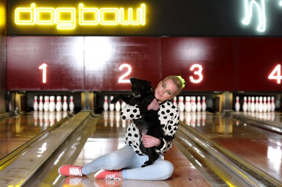 Helen Flanagan – Dog Bowl Bowling Alley Photoshoot – March 2013 -10