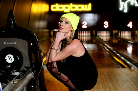 Helen Flanagan – Dog Bowl Bowling Alley Photoshoot – March 2013 -12