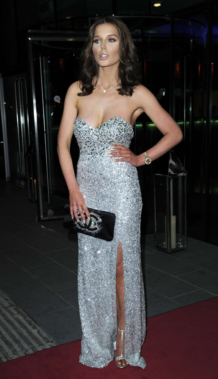 Helen Flanagan: 2014 The Mirror Ball Lowry Hotel -07