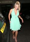 Helen Flanagan In a Green Dress -09