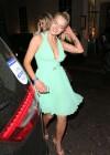 Helen Flanagan In a Green Dress -10