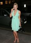 Helen Flanagan In a Green Dress -17