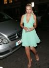 Helen Flanagan In a Green Dress -22