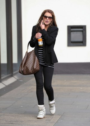 Helen Flanagan in Leggings -01