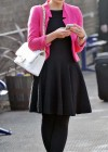 Helen Flanagan - In Pink Waiting to board a train -07