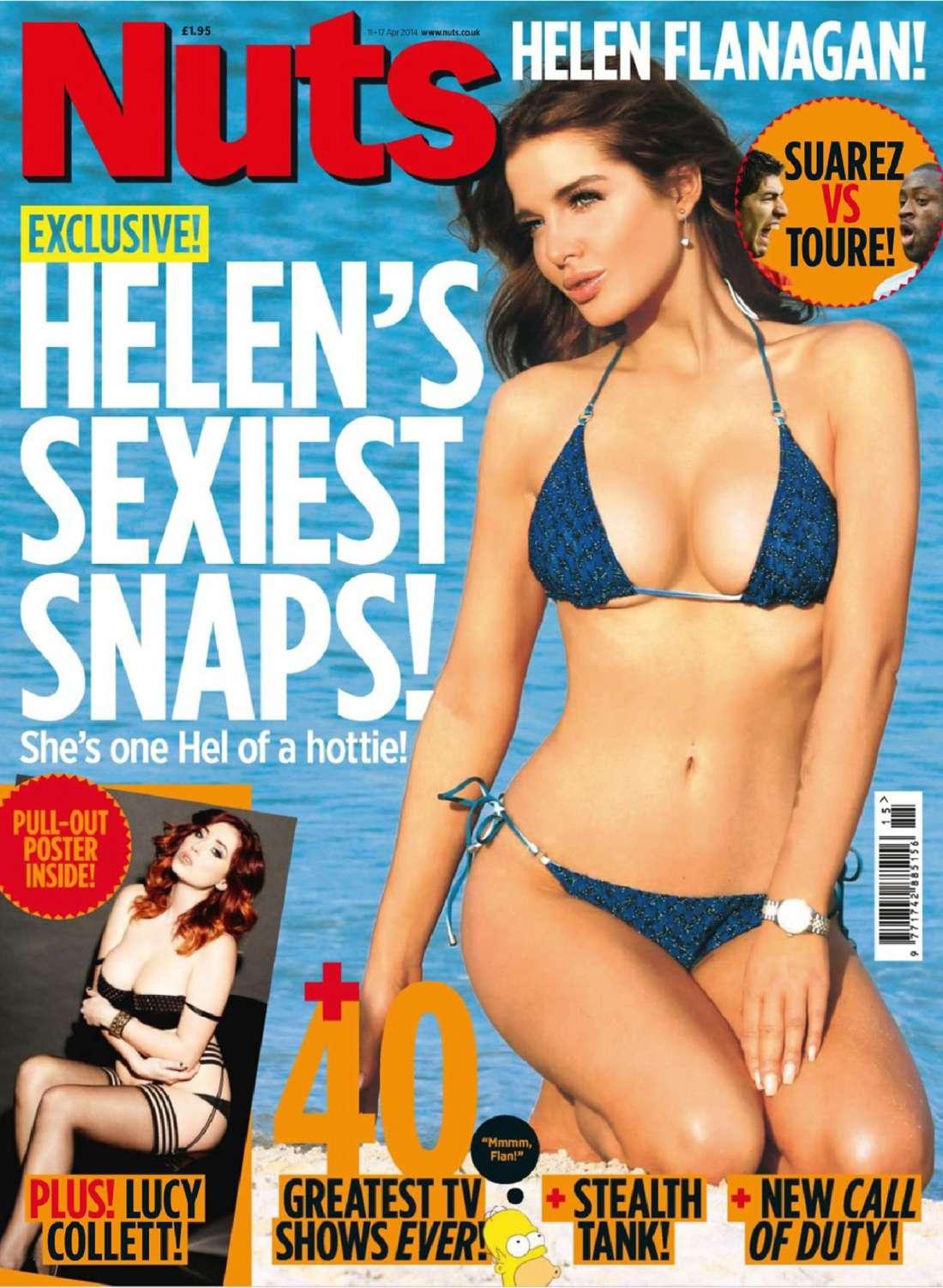 Helen Flanagan 2014 : Helen Flanagan: Nuts Magazine -02