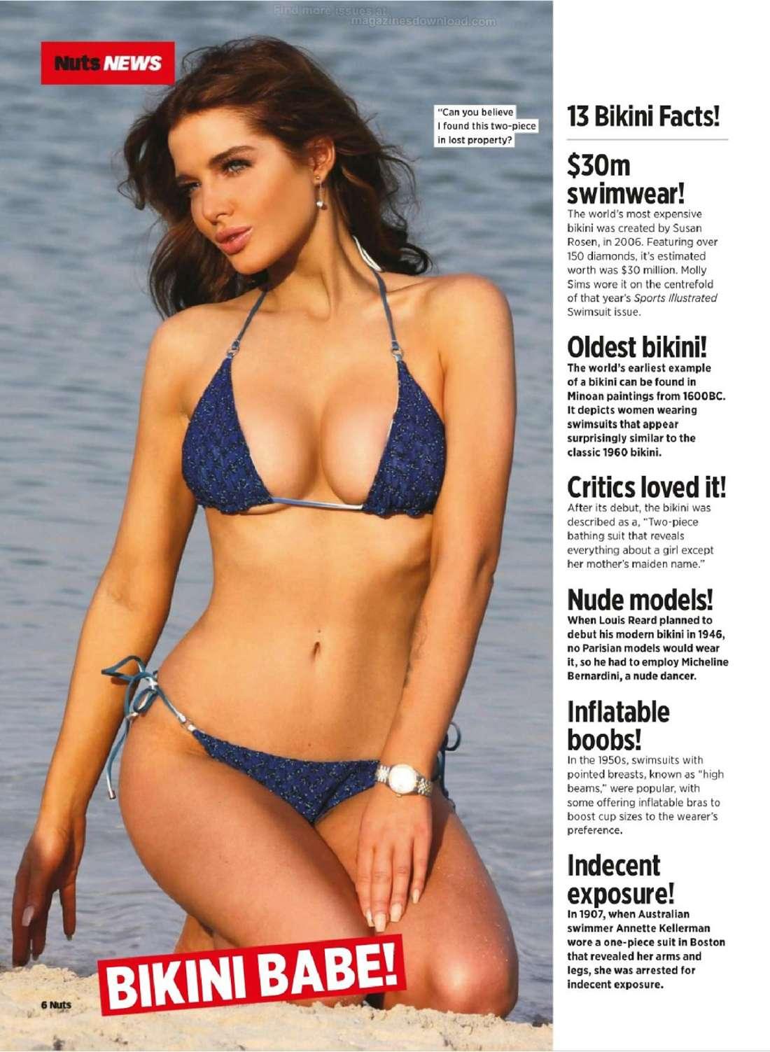 Helen Flanagan 2014 : Helen Flanagan: Nuts Magazine -04
