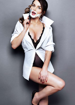 Helen Flanagan - The Sun Magazine (November 2014)