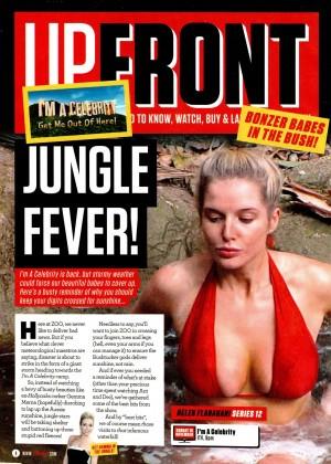 Helen Flanagan - UPFRONT-ZOO Magazine (November 2014)