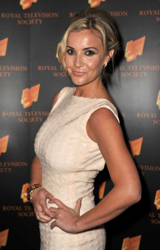 Helen Skelton - 2014 RTS Awards in Manchester