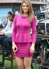 Maria Menounos - Extra set candids at The Grove in Los Angeles -05