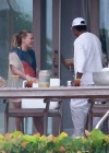 Hilary and Haylie Duff - on vacation-14