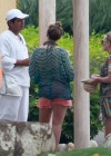 Hilary and Haylie Duff - on vacation-16