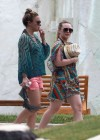 Hilary and Haylie Duff - on vacation-20