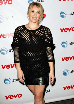 """Hilary Duff - """"All About You"""" Music Video World Premiere in NYC"""
