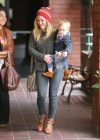 Hilary Duff at Babies to Babies Class -11