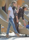 Hilary Duff at Coldwater Canyon Park in Beverly Hills -06