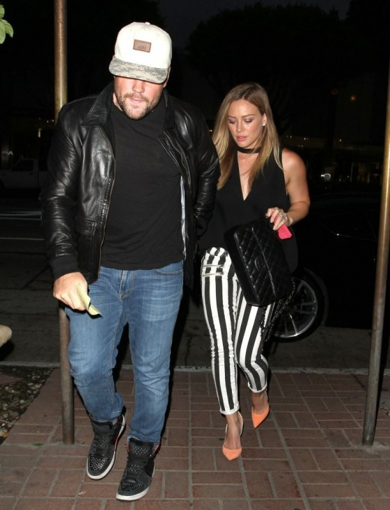 Hilary Duff at Madeo restaurant in West Hollywood -01