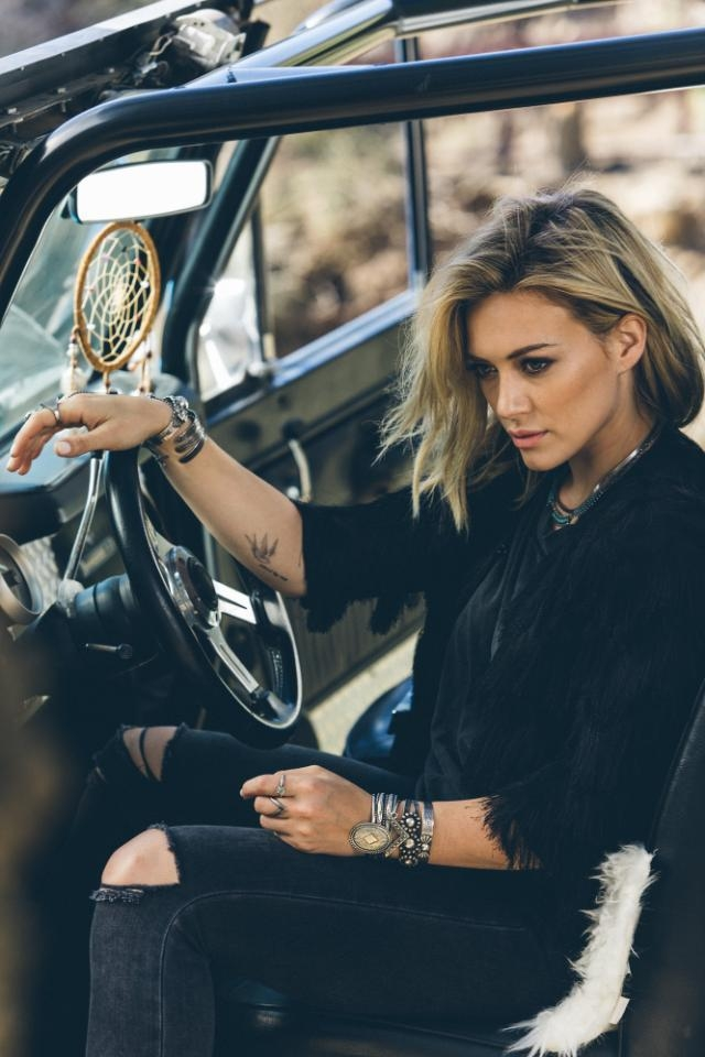 """Hilary Duff by Harper Smith Photoshoot for """"Chasing The Sun"""" 2014"""