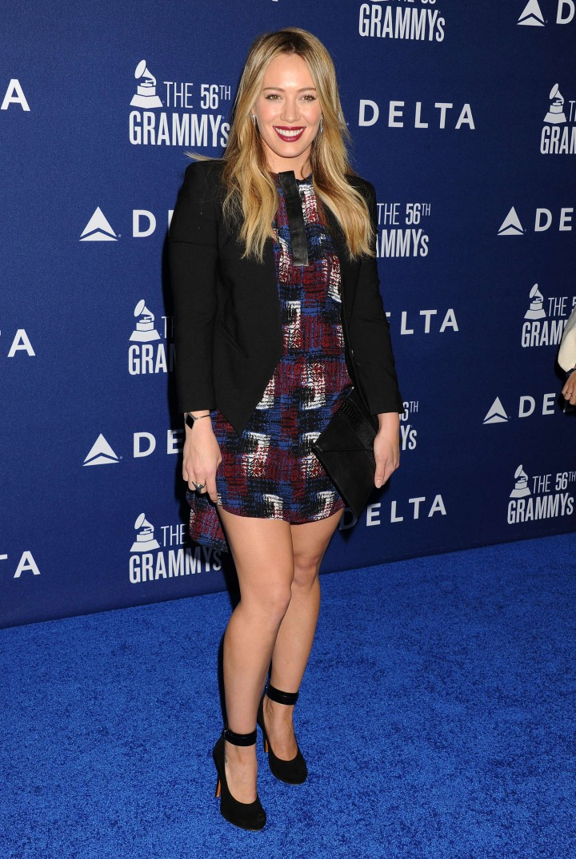 Hilary Duff – Delta Air Lines 2014 Grammy Weekend Reception