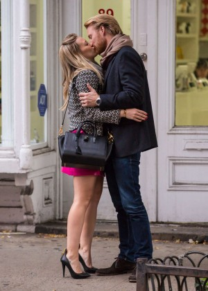 Hilary Duff in Pink Mini Skirt on Younger set -24