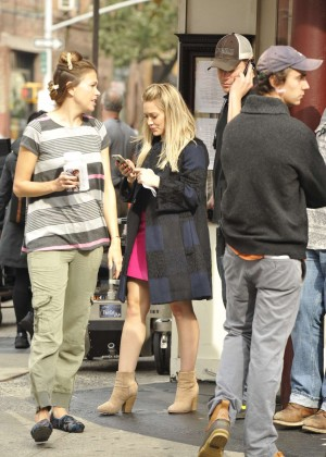 Hilary Duff in Pink Mini Skirt on Younger set -55