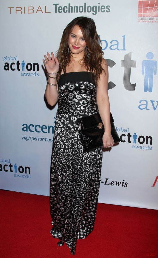 Hilary Duff – Global Action Awards Gala in Beverly Hills