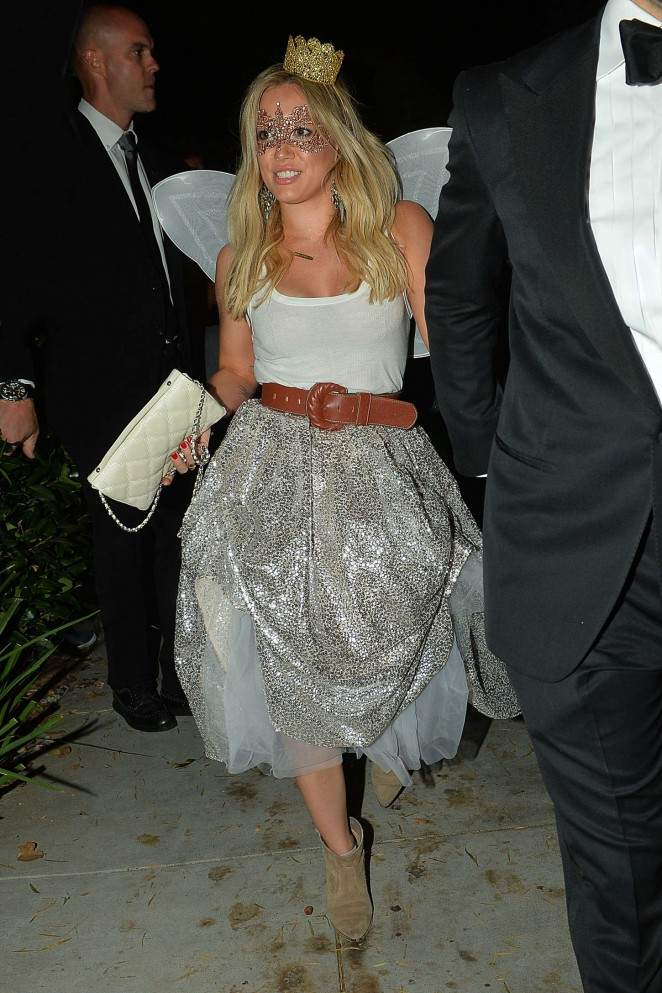 Hilary Duff: 2014 Casamigos Tequila Halloween Party -05 - GotCeleb