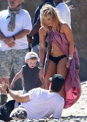 Hilary Duff bikini: Malibu 2014 -10