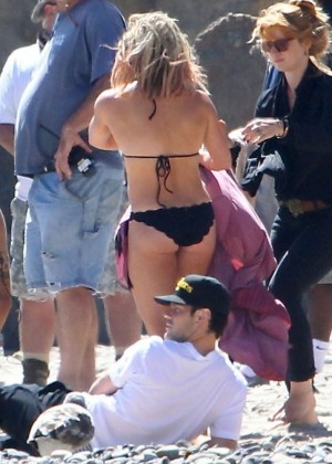 Hilary Duff bikini: Malibu 2014 -20