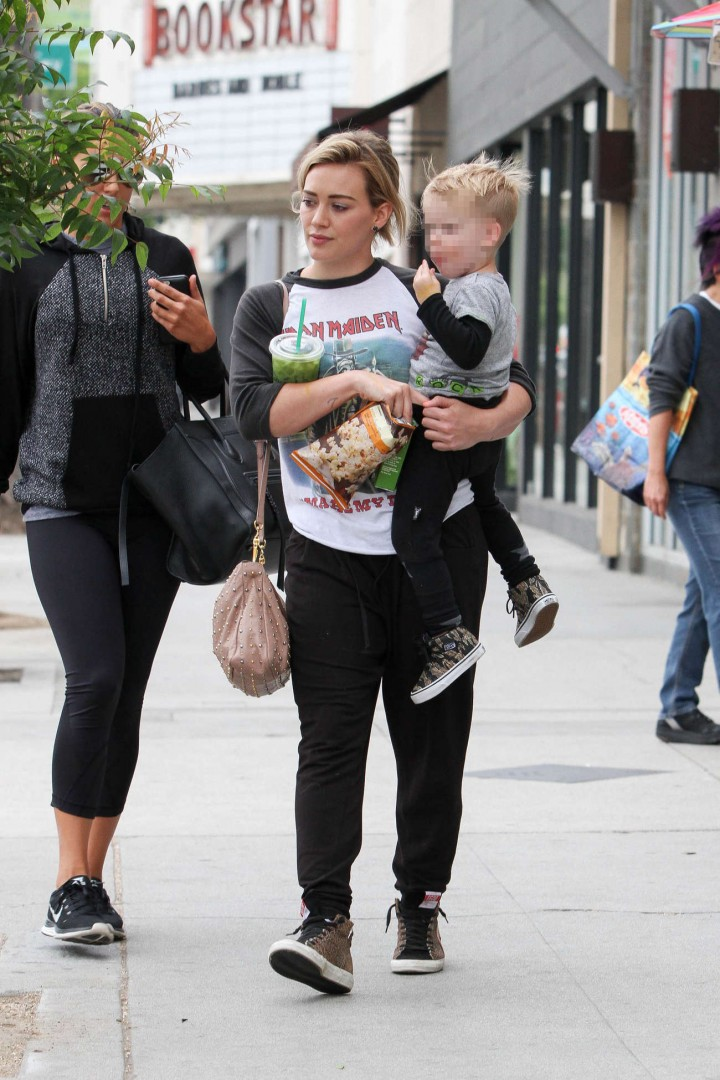 Hilary Duff out in Beverly HIlls -08