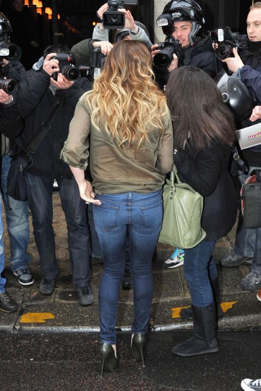 Hilary Duff – Out in Paris
