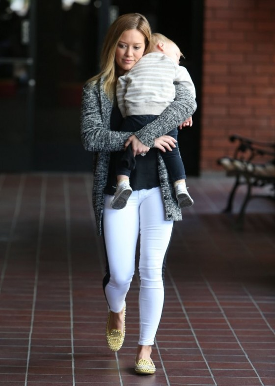 Hilary Duff Out in Sherman Oaks