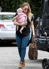 Hilary Duff - Shopping Candids in Santa Monica