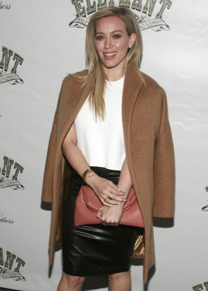 "Hilary Duff - ""The Elephant Man"" Broadway Opening Night in New York"