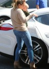 HIlary Duff - Tight jeans candids-02