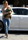 HIlary Duff - Tight jeans candids-05