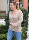 HIlary Duff - Tight jeans candids-12
