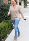 HIlary Duff - Tight jeans candids-15
