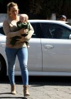 HIlary Duff - Tight jeans candids-21