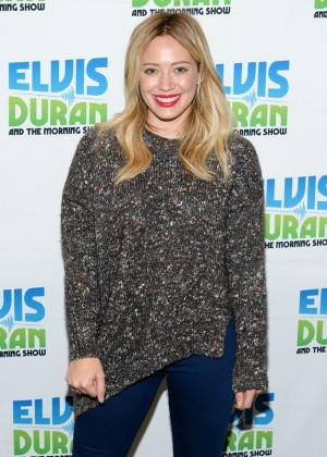 """Hilary Duff - Visits """"The Elvis Duran Z100 Morning Show"""" in NYC"""