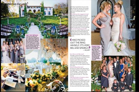 Hilary Duff Wedding Photos