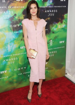 Hilary Rhoda - 2014 Fragrance Foundation Awards in NYC -03