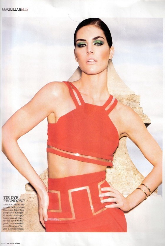 Hilary Rhoda – Elle Magazine Spain (April 2011)
