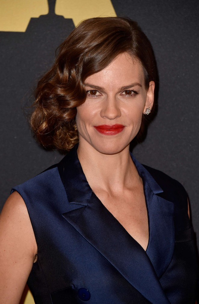 Hilary Swank – AMPAS 2014 Governors Awards in Hollywood