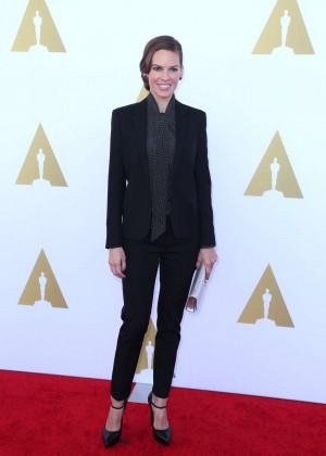 Hilary Swank - 2014 AMPAS Hollywood Costume Luncheon -02