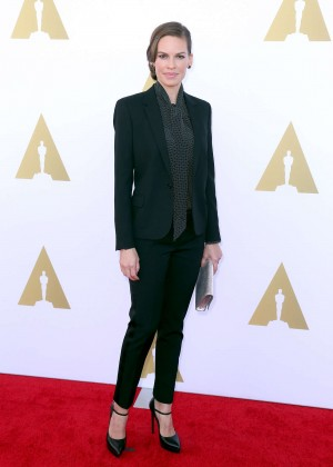 Hilary Swank - 2014 AMPAS Hollywood Costume Luncheon -03