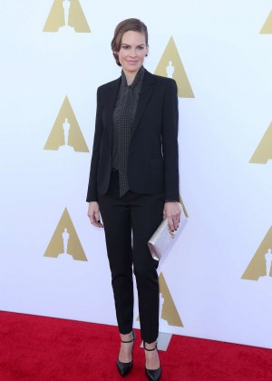 Hilary Swank - 2014 AMPAS Hollywood Costume Luncheon -05
