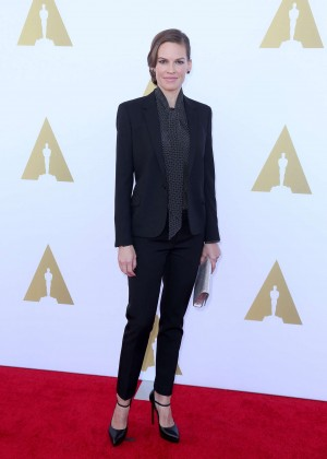 Hilary Swank - 2014 AMPAS Hollywood Costume Luncheon -06