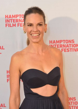 "Hilary Swank - ""The Homesman"" Premiere in East Hampton"